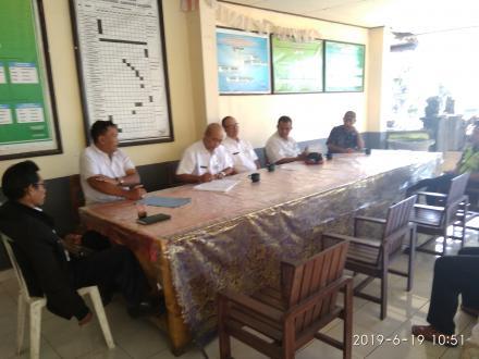 Sosialisasi Dinas PU Provinsi terkait Lahan Penduduk Yang Terkena Proyek Peningkatan Jalan  Pupuan -