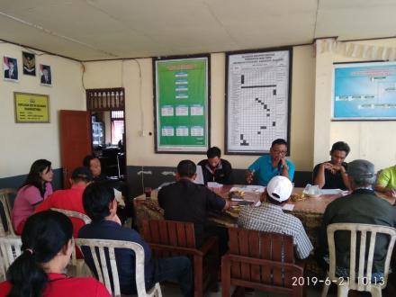 Musdes Desa Tista berkaitan dengan Pencermatan RPJMDes dan Penyususnan RKP 2020