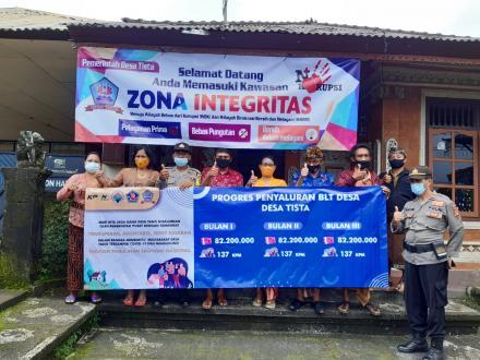 Bangun Budaya Anti Korupsi,Wujudkan Zona Integritas