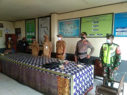 Penerapan Protokol Kesehatan Tim Kecamatan Busungbiu