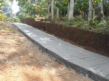 rabat beton jalan usaha tani
